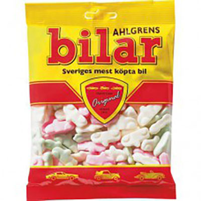 Ahlgrens bilar, Swedish candy at Cajutan in Bangkok
